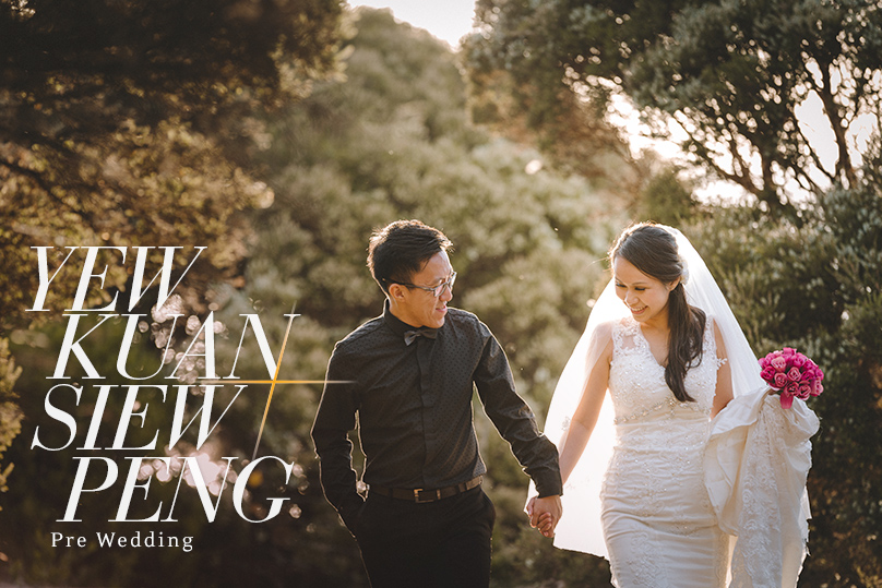 Perth Destination Pre Wedding Photography